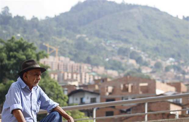 Collina El Picacho di Medellin