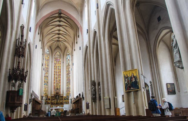 Iglesia de San James - Rothenburg ob der Tauber