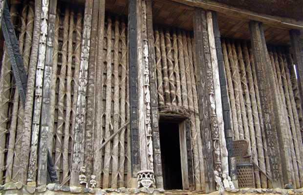 El palacio de Bafut