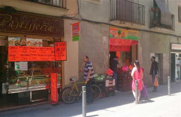 Quartier arabe de Barcelone