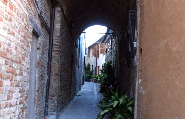 Streets of Recanati
