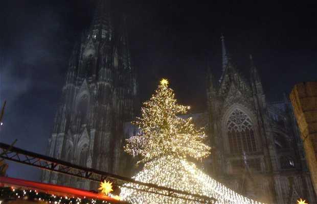 Mercado de Navidad de la catedral - Weihnachtsmarkt am Dom