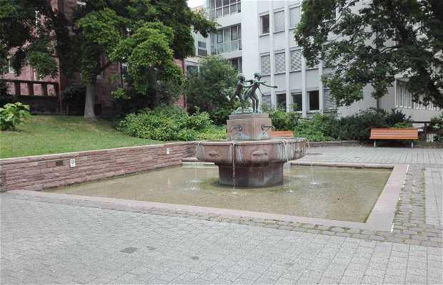 La Fuente de los Tres Ríos en Pforzheim