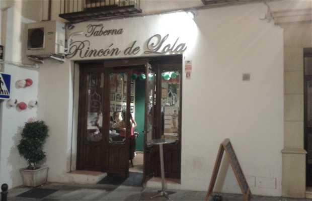 Taberna El Rincón de Lola