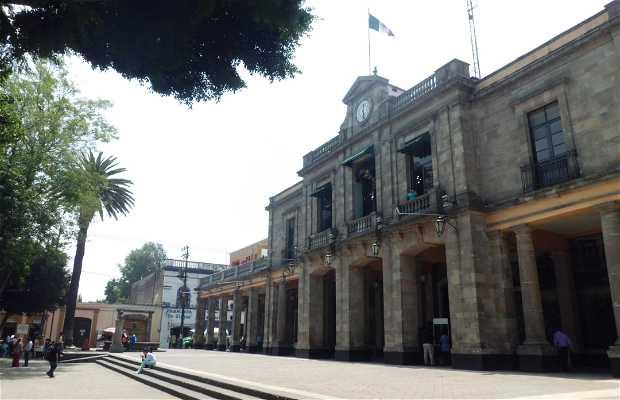 Edificio Delegacional de Tlalpan