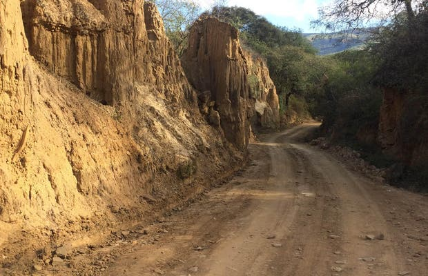 Camino precolonial de comarapa
