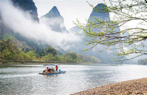 Crucero por el rio Lijiang