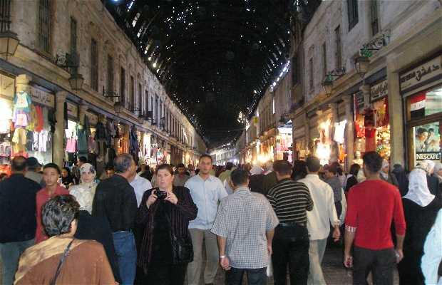 Souk em Damasco