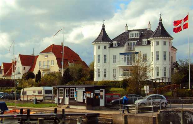 Centre ville de Svendborg