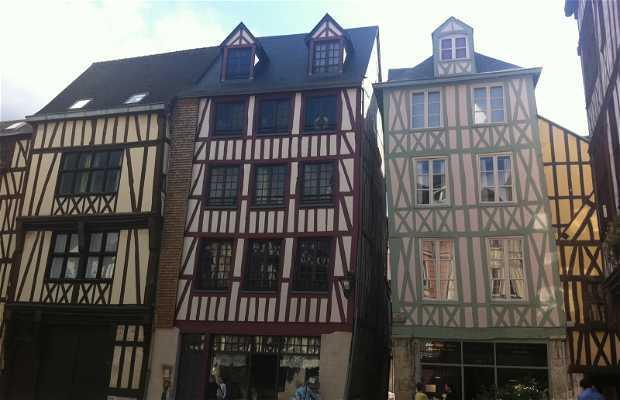 Maisons à pans de bois