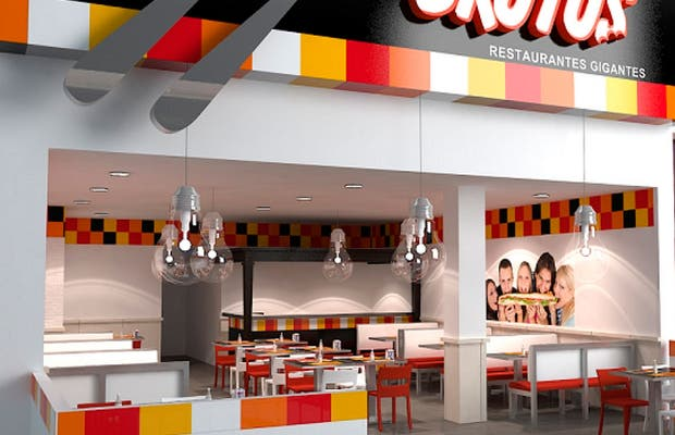 Restaurantes Gigantes Brutus Madrid (Xanadú)