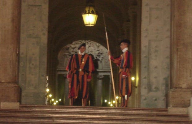 La guardia suiza del Vaticano