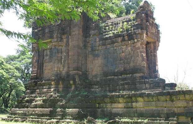 Tempio di Tha Pa Daeng Shrine a Sukhhothai