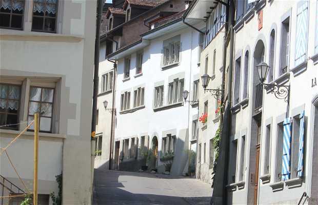 Ciudad vieja de Fribourg