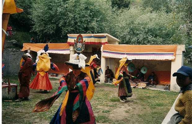 Festival de Chaam (ofrenda a los Dioses)