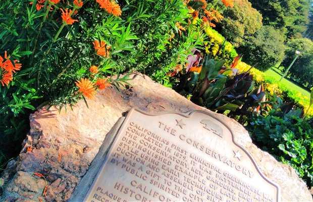 Conservatorio de plantas - Golden Gate Park