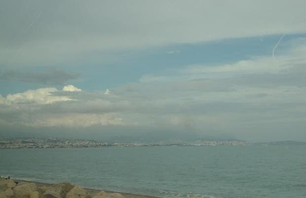 La vue sur Nice