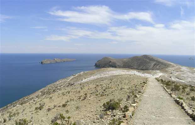 Camino Norte - Sur de la Isla del Sol