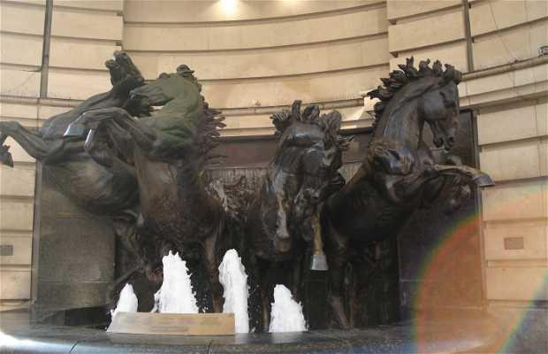 Fontaine des chevaux d'Hélios