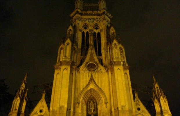 Lourdes de noche, Bogota, Colombia