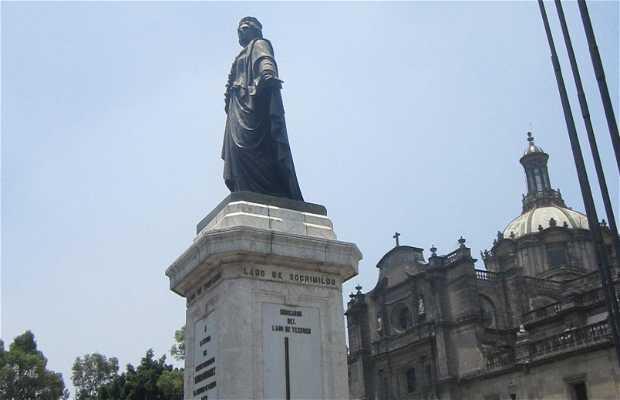 Estatua Enrico Martínez