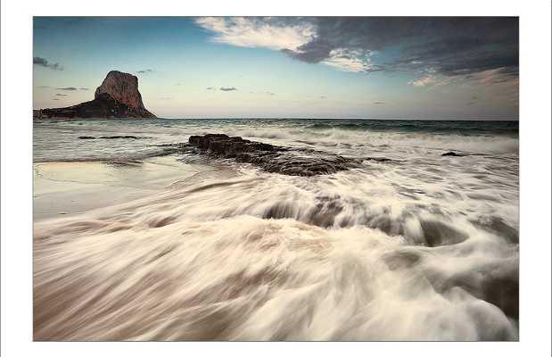 Capri Beach and Ifach rock
