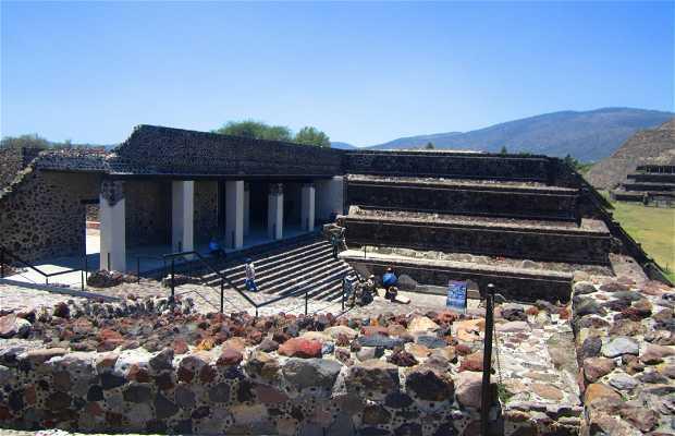 Le palais de Quetzalpapalotl