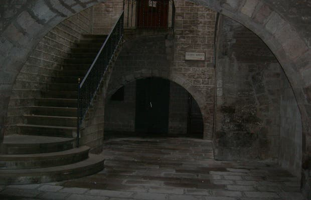Resti del tempio di Augusto a Barcellona