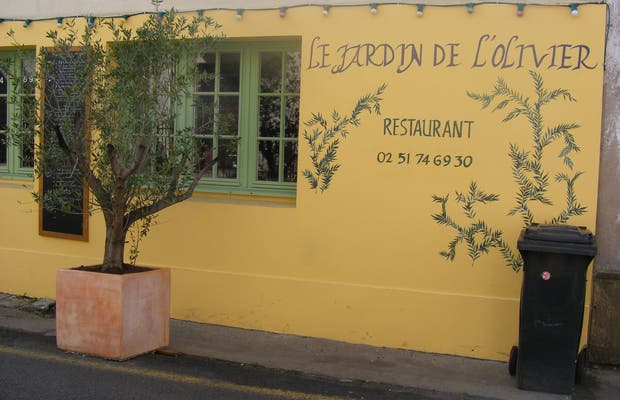 Restaurante Le Jardin de l'Olivier