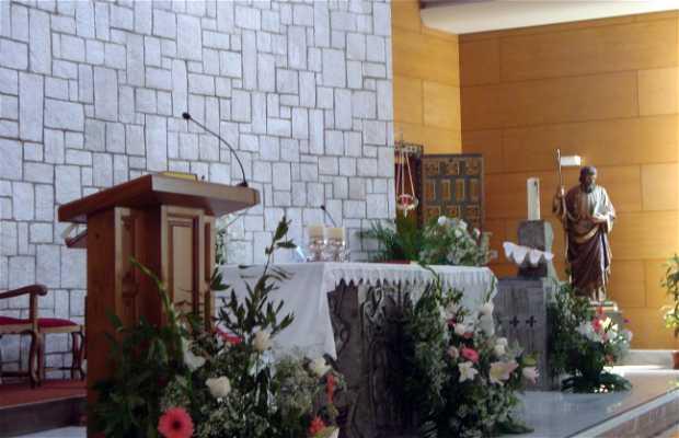 Interior de la Iglesia de San Andrés