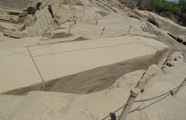 Canteras de granito y Obelisco Inacabado