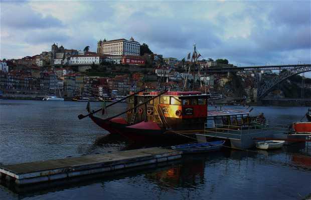Paseo en Barco Rabelo en el Douro