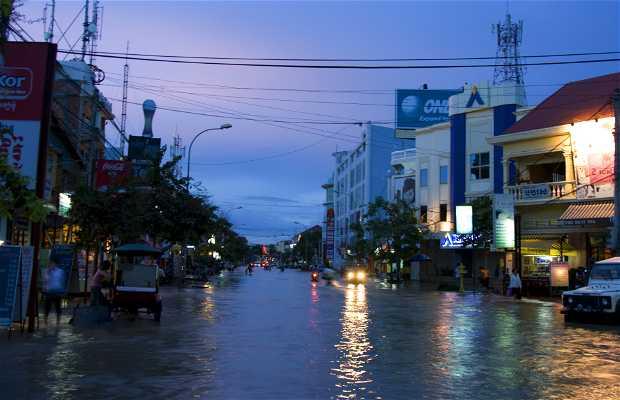 Siem Reap depois do tufão