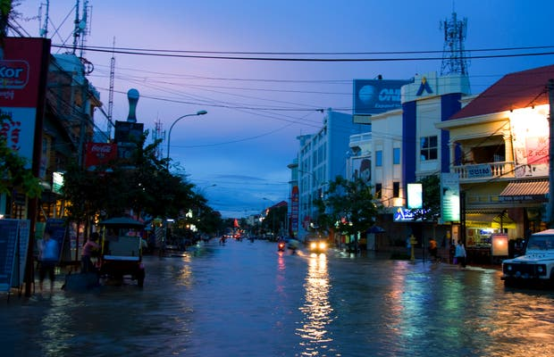 Siem Reap tras el tifón