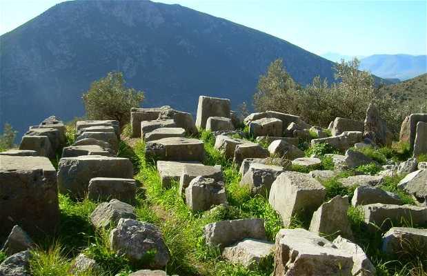 Le sanctuaire d'Athena