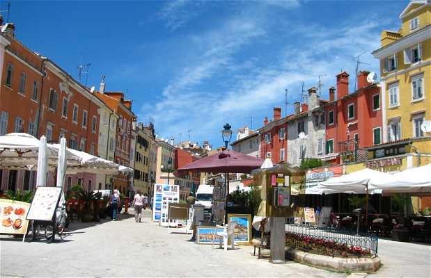 Centro storico di Rovigno