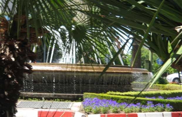Fontaine lumineuse de Cacéres