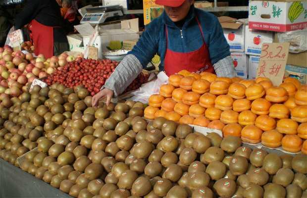 Mercados de verduras y fruta