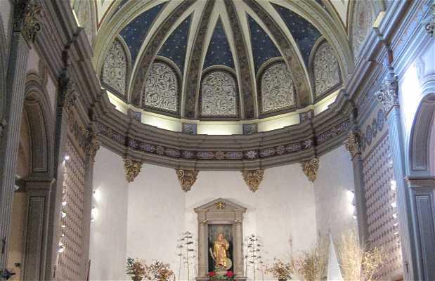L'église paroissiale de San Vincente