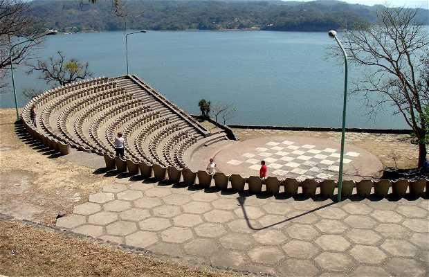 The Cadillal dam