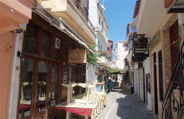 Les rues de Réthymnon