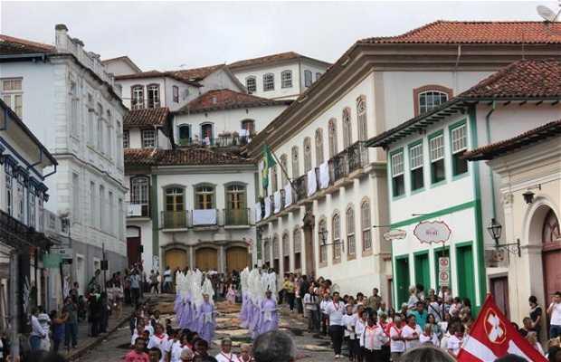 Procissão da Ressurreição - Semana Santa Ouro Preto