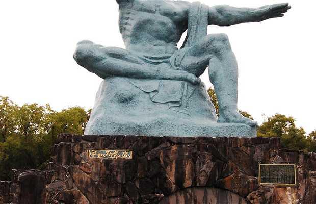 Escultura memorial de la paz