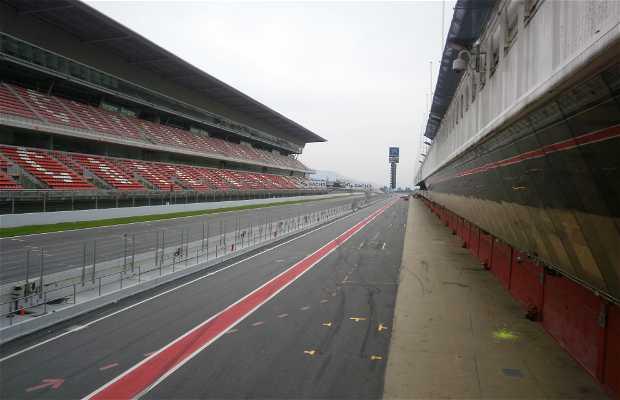 Visitas guiadas por el Circuit de Catalunya