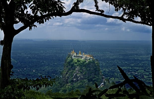 El Monasterio del Monte Popa (Myanmar)