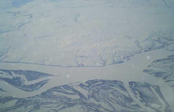 Mare congelato a Abadzehskaja