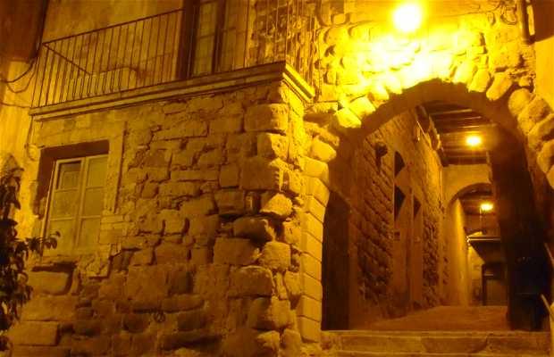 The streets of Cardona