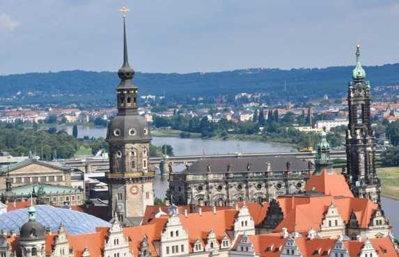 Tour de l'hôtel de ville de Dresde