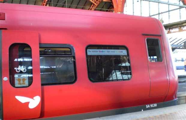 train de banlieues S-Tog