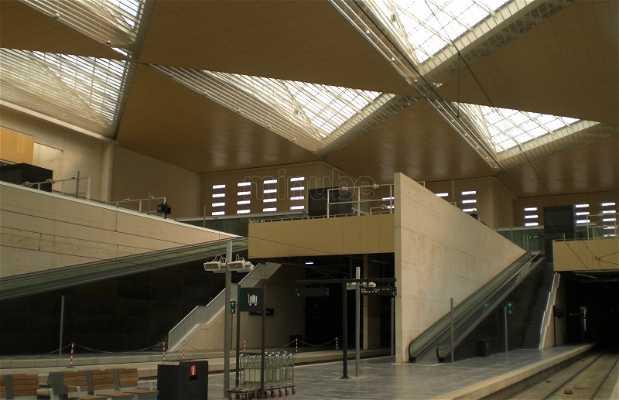 Gare Saragosse - Delicias
